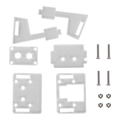 ABS-camerastandaard, camerastandaard Slijtvaste ABS-beugelaccessoires van hoge kwaliteit voor Raspberry Pi V2, met accessoires voor schroefzakken, redelijke structuur, goed vakmanschap