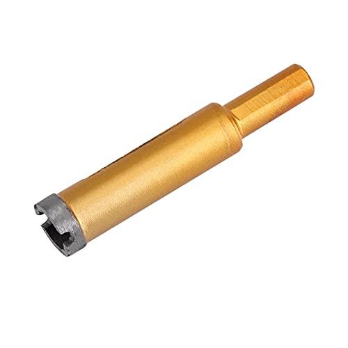 Broca oxidada del diamante, metal de la resistencia de la incisión de la base del granito del oro para la piedra de mármol de cerámica
