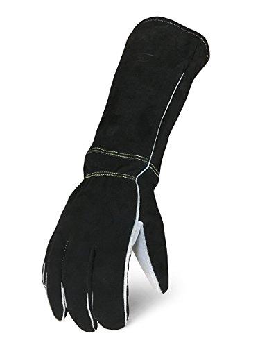 IRONCLAD Welding Leather Gloves MIG TIG STICK GRAIN, Palm Reinforcements, Fleece or Cotton Lining, Foam Insulation, Multi Options Cow, Elkskin, Buffalo, Sized S/M/L/XL, Great Fit