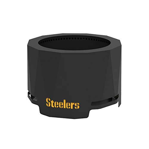 Blue Sky Outdoor Living PFP2416-STEELERS Patio Fire Pit, Pittsburgh Steelers