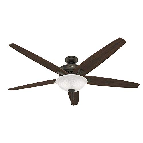 Hunter Stockbridge Indoor Ceiling Fan with LED Light and...