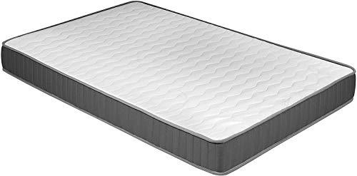 Eco 18, Materasso ergonomico, materasso in schiuma, misure: 90 cm (larghezza) x 190 cm (lunghezza) x 18 cm (spessore)