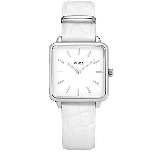 Cluse Damen Analog Quarz Uhr mit Leder Armband CW0101207017