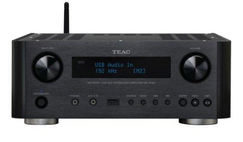 Teac NP-H 750 Netzwerk-Player mit USB-Streaming, DLNA 1.5, AirPlay und Internetradio schwarz
