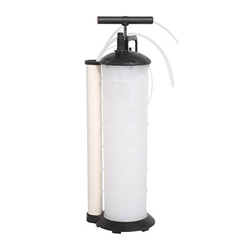 GOTOTOP Pompa aspira Olio, Manual Vacuum Oil Pump Extractor Fluido per Auto, Caravan, Marino, Barca, Capienza 7 Litri