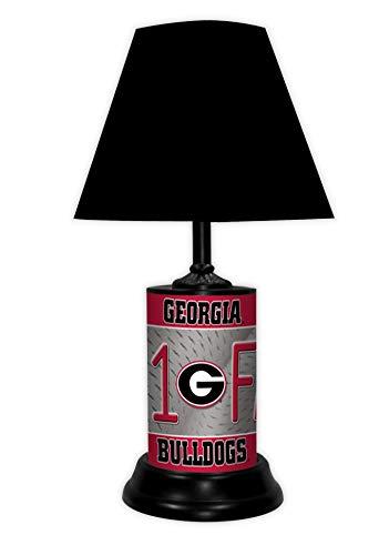 georgia bulldog lamp - 1