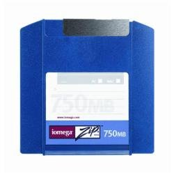 Iomega Zip Disk 750MB PC/MAC (1 ST) grey