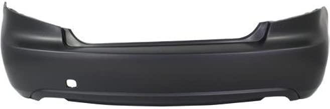 Go-Parts - OE Replacement for 2008 - 2010 Subaru Impreza Rear Bumper Cover (CAPA Certified) SU1100158C SU1100158C Replacement For Subaru Impreza