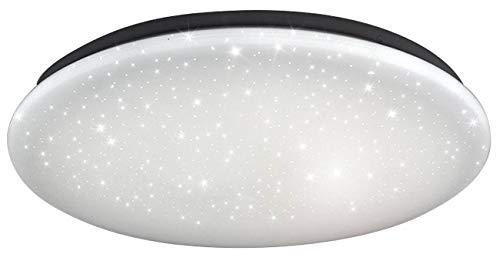 Luminea Badezimmer Lampen: LED-Decken-Kinderzimmerleuchte, Sternenhimmel-Effekt, Ø 28 cm, 840 lm (LED Deckenleuchte)