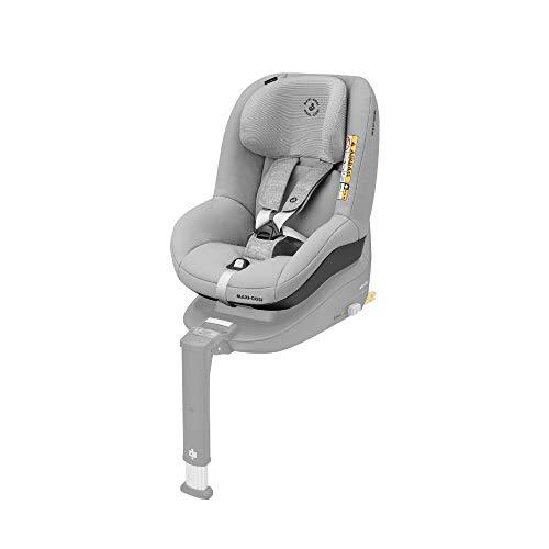 Maxi-Cosi Pearl Smart Kindersitz - rückwärts & vorwärtsgerichtetes Fahren möglich, für ISOFIX-Basis FamilyFix One i-Size, Gruppe 1 (9-18 kg) nutzbar ab 6 Monate - 4 Jahre, Nomad Grey (grau)