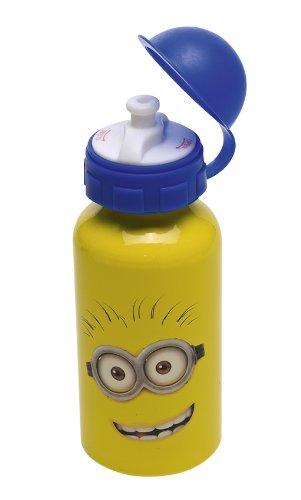 Joy Toy 72001 - Minions Alu-Trinkflasche, 400 ml, 6.5 x 6.5 x 17 cm