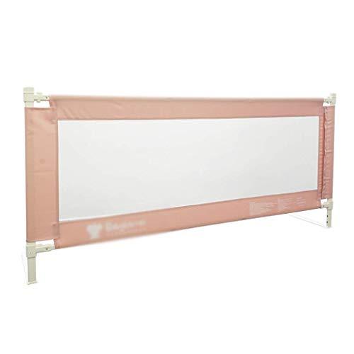 Pkfinrd anti-val hek, slaapkamer groot bed bed bed beschermende hek kind naar bed kruipen leren lopen anti-out Guardrail, 1,5-2M