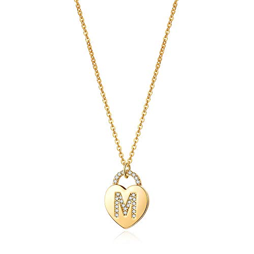 (60% OFF) Lock Initial Necklace $4.80 – Coupon Code