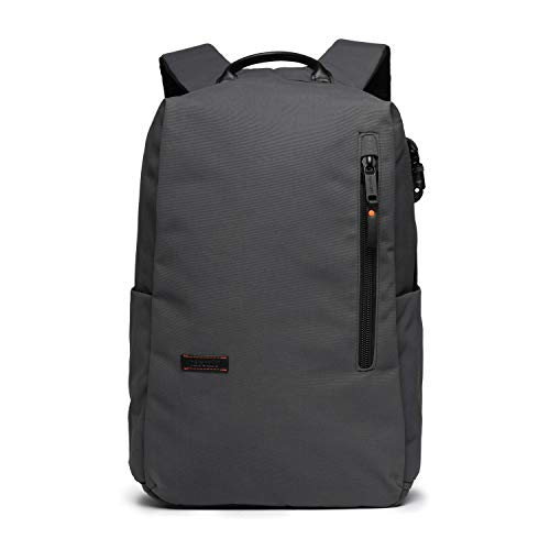 PacSafe Men's UNbox Therapy x 25L Anti Theft Backpack-with Padded 15' Laptop & Tablet Sleeve, Charcoal, 25 Liter