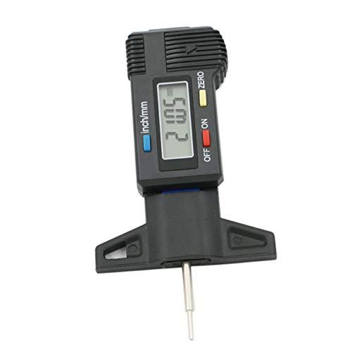 0-25 mm metrische inch conversie band patroon diepte gaas nauwkeurige meting dikte gaas vloeibaar kristal display Tread meting
