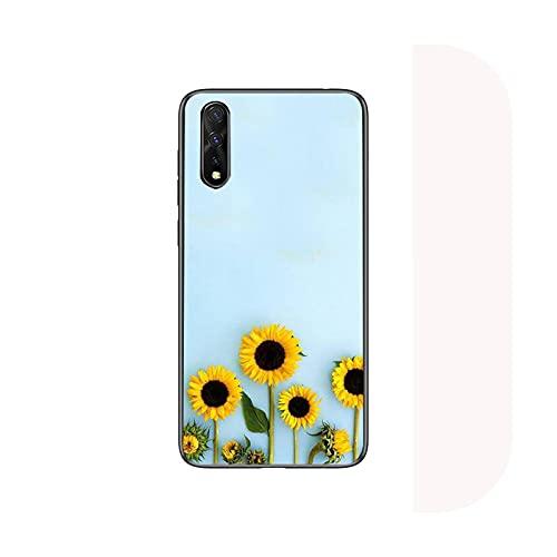 Lindo verano margarita girasol floral flor teléfono caso para Huawei P9 P10 P20 P30 P40 Lite 2017 pro smart2019 cubierta fundas coque-a2-para Huawei P10 lite