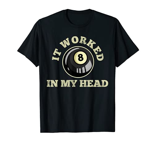 Piscina de billar 8 bolas Camiseta