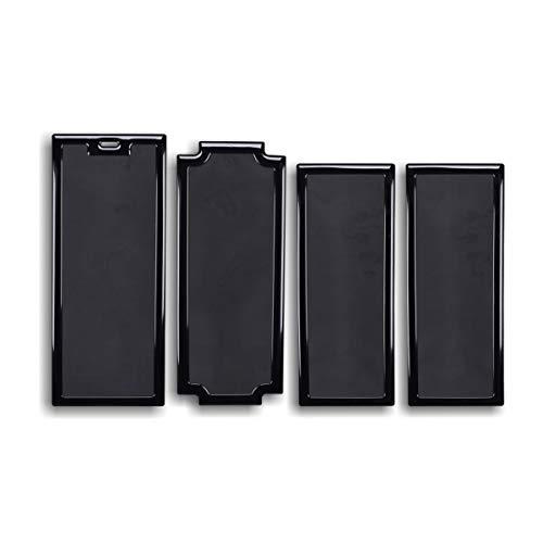 DEMCiflex Dust Filter Kit for Louqe Ghost S1 Filter Kit