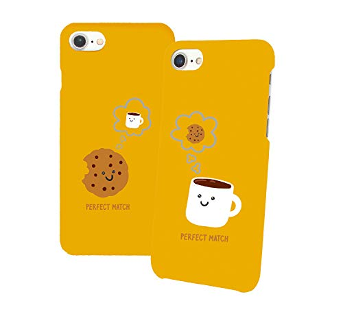 Perfect Match Cookie_011343 Iphone Phone Hard PC Case Cover For Couples Best Friends In Relationship Present BFF Bae For Iphone 6 6s 7 7plus 8 X Case Cover 3D Print