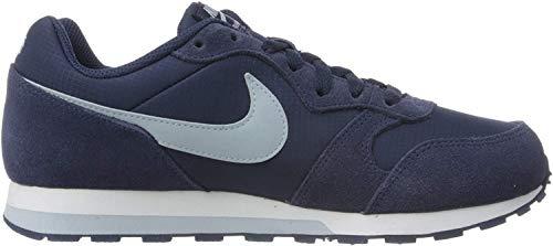 Nike Unisex-Kinder MD Runner 2 PE (GS) Sneaker, Midnight Navy Light Armory Blue, 36.5 EU
