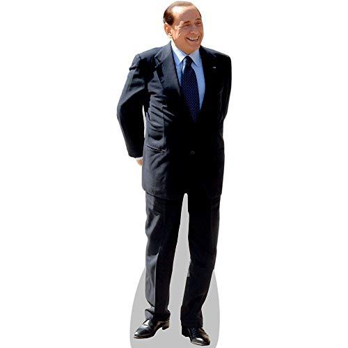 Silvio Berlusconi a grandezza naturale