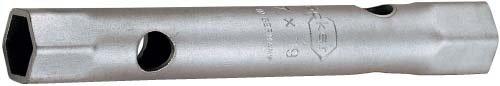 ORION Sechskant-Rohr-Steckschlüssel 24x26 mm DIN 896 B aus Chrom-Molybdän-Stahl