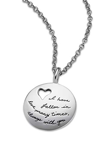 Falling in Love Silver necklace