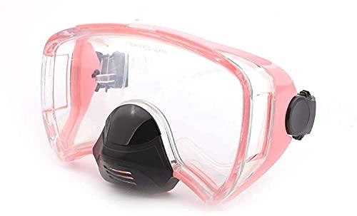 AWJ máscara de Buceo Máscaras de Buceo Máscara de Snorkel Máscaras de Buceo Antivaho Natación Profesional Gafas subacuáticas Equipo de Buceo con esnórquel Equipo de Snorkel Profesional para