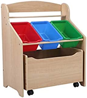 Phoenix Home Kid's Store All Unit, Natural Finish