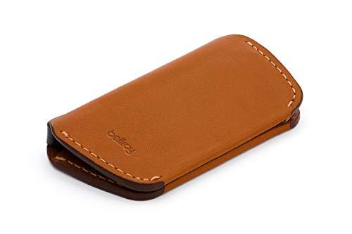 Bellroy Key Cover Second Edition Leder Schlüssel-Etui (max. 4 Schlüssel) - Caramel