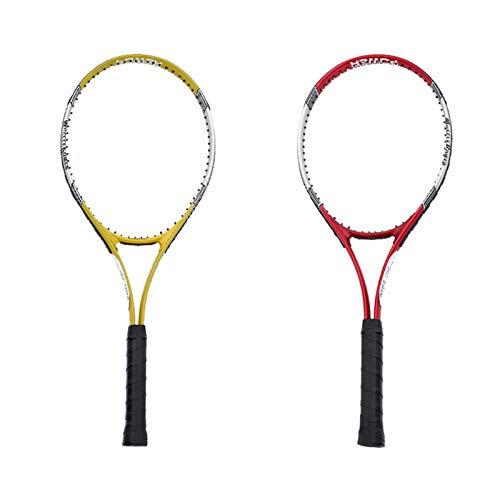 Mikelabo - Raqueta de tenis de césped (27 unidades), color rojo