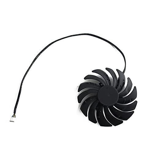 PLD09210B12HH DC12V 0.40A RTX2070 RTX2080 para MSI para GEFORCE RTX 2070 2080 2080 TI 11GB para Duke OC V1 Fan de la Tarjeta gráfica (Blade Color : 1pcs)