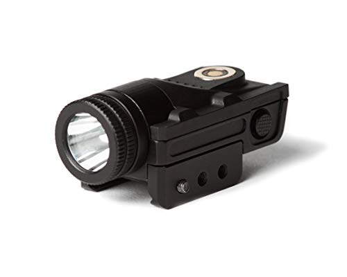BattleTorch V1 Flashlight Gun Light | Strobe Function | Combat Veteran Owned Company | 400 Lumens | Pistols | Rifles | Magnetic Charging | Tactical Light with Strobe for Handgun | Pistol Light