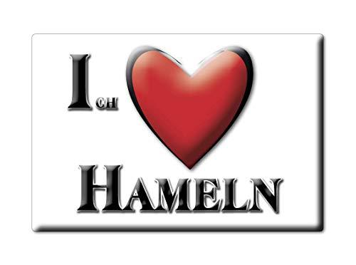 Enjoymagnets HAMELN (NI) Souvenir Deutschland Niedersachsen Fridge Magnet KÜHLSCHRANK Magnet ICH Liebe I Love