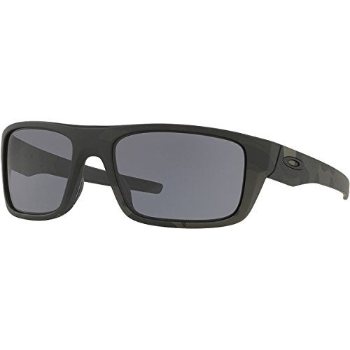 Oakley Mens Drop Point Sunglasses, Multicam Black/Grey, One Size