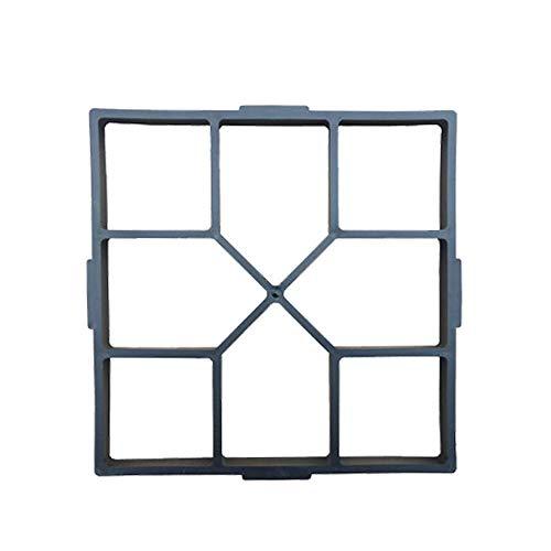 Pflasterform Gartenbau Pflaster Beton Backsteinform Zement Kunststoffboden Villa Antike Hausgemachte BAU Garten DIY, 40X40X4 cm