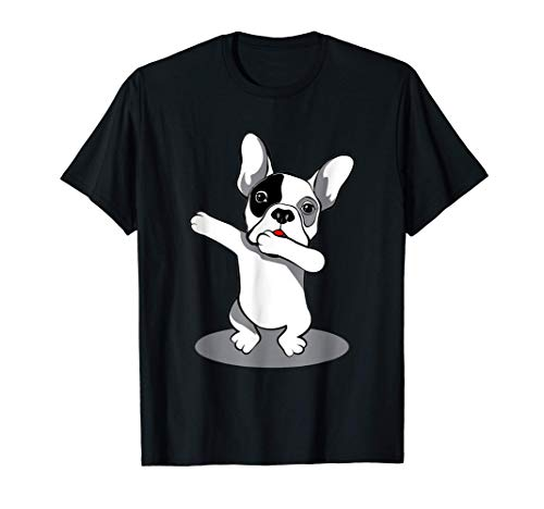 Funny Dabbing French Bulldog Pet Owner Dog Lover T-Shirt