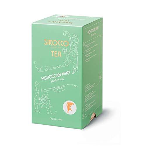 Sirocco Tee - Moroccan Mint Marokkanischer Bio-Minztee - 3 x 20 Teebeutel (60 Teebeutel)