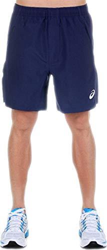 ASICS - Pantalones cortos deportivos para hombre, 7 pulgadas, color azul marino, Hombre, color azul marino, tamaño 54