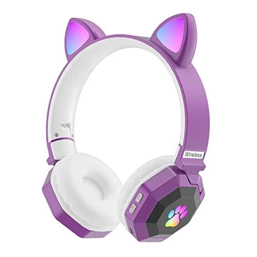 Generic Over-Ear-Cat-Ear-Funkkopfhörer,...
