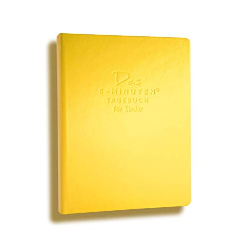 Das 6-Minuten Tagebuch für Kinder | Tagebuch für Mädchen & Jungen | Für ein positives Mindset, mehr Selbstbewusstsein, Resilienz & Achtsamkeit | Das ideale Geschenk für Kinder (gelb)