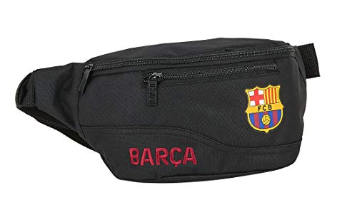 safta 812027446 Riñonera FC Barcelona, Negro