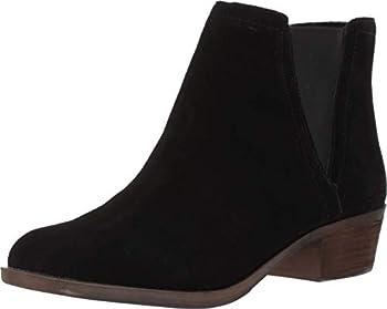 Kensie Garry Round Toe Ankle Boots Black 8 US