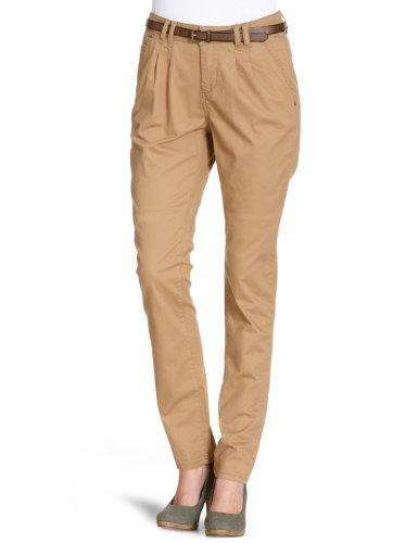 Vero Moda - Pantalón Chino para Mujer, Talla 36, Color Beige (Dark Sand)