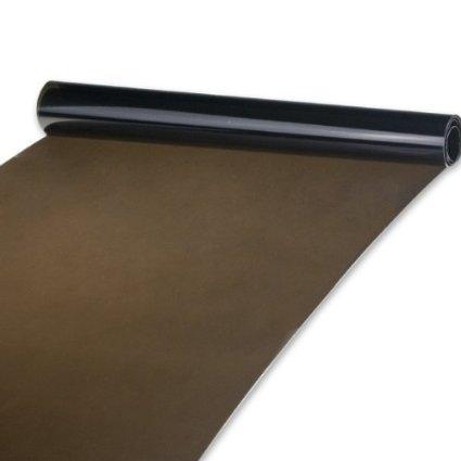 2-er THG Tönungsfolie 30x120cm Sonnenschutzfolie Scheibenfolie Autofolie Fensterfolie Folie tiefschwarz