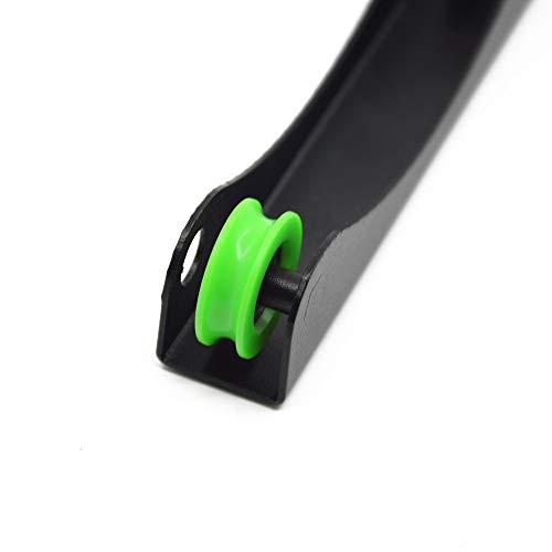 Iverntech - 1 bobina di metallo per filamento stampante 3D PLA, ABS, legno, TPU, nylon, materiali flessibili