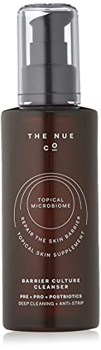 The Nue Co. - BARRIER CULTURE CLEANSER & MOISTURIZER - Prebiotic + Probiotic Skincare For All Skin Types - Anti-Pollution (BARRIER CULTURE - Cleanser)