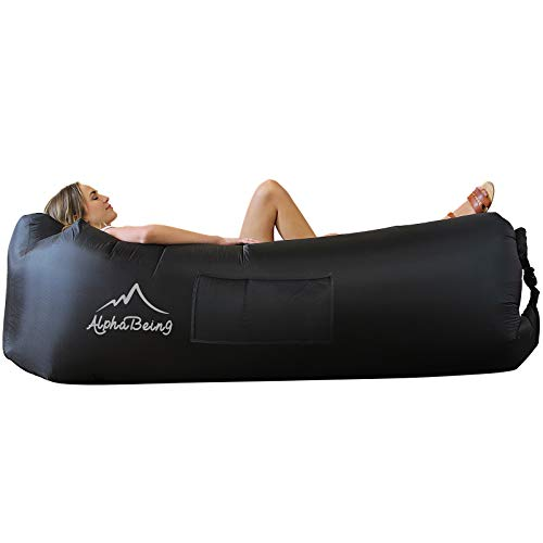 AlphaBeing Inflatable Lounger - Best Air Lounger Sofa for Camping,...