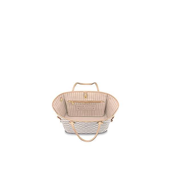 Fashion Shopping Louis Vuitton Neverfull MM Damier Azur Bags Handbags Purse