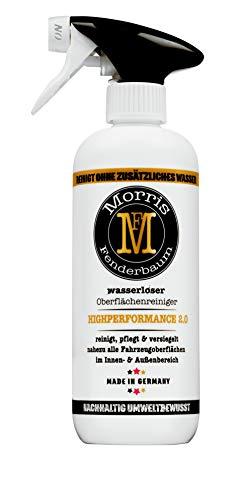Morris Fenderbaum Highperformance 2.0 wasserlose Fahrzeugpflege (500ml), KFZ Reinigung, Autoreinigung, Autopflege